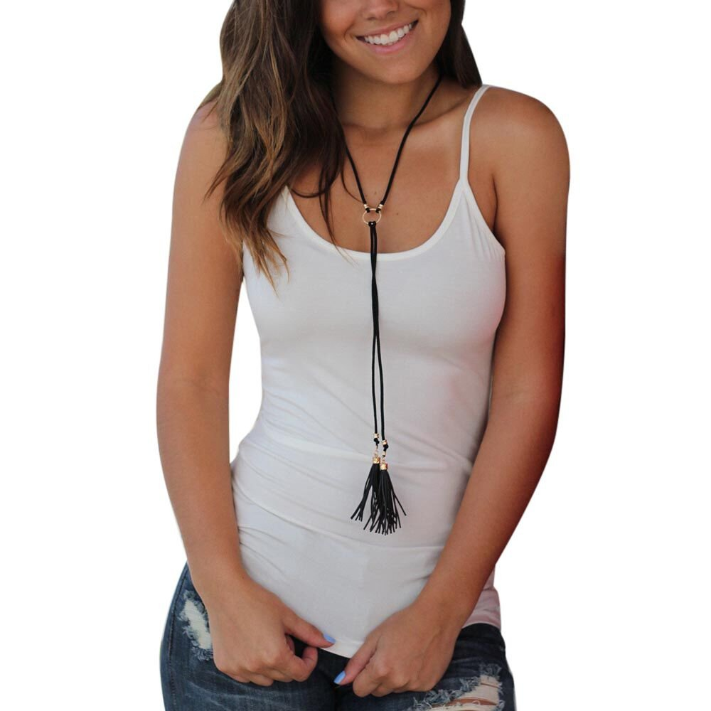 Women Vest Top Summer Criss Cross Blouse Casual Sleeveless Tank Shirts Hollow Out Vest Camisole Cardigan White