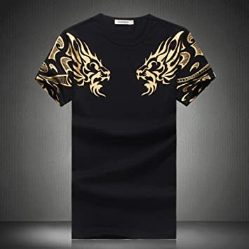 RCFRGV Camiseta 3DT Camiseta de algodón básica para Hombre, de Fin ...