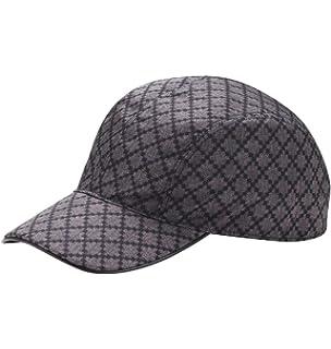 a2b7ca701f757 Gucci Unisex Diamante Blue Nylon Baseball Hat with Trademark Logo 268897  4079