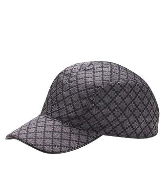 6faa7c15f6e Gucci Unisex Diamante Blue Nylon Baseball Hat with Trademark Logo 268897  4079 (XL)