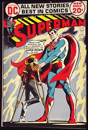 Superman Vintage Ink (SUPERMAN #254 FN- NEAL ADAMS INKS)