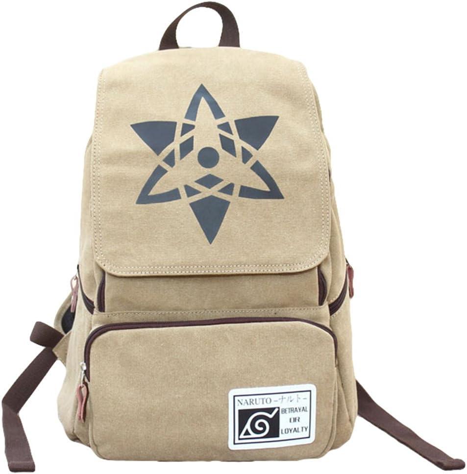 Gumstyle Naruto Backpack Rucksack Schoolbag Tablet Laptop Bag for Boys and Girls