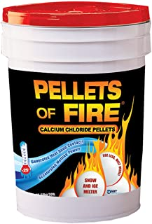 Lovely Pellets Of Fire CPP50 Snow U0026 Ice Melter Calcium Chloride Pellets  50 Pound Bucket Sc 1 St Amazon.com. Image Number 1 Of Roof Melts Reviews ...