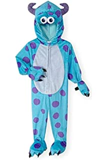 Disney Baby Toddler Little Boys Monsters Inc Sulley Dress Up Halloween Costume