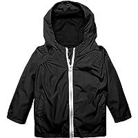 Arshiner Little Kid Waterproof Lightwight Jacket Outwear Raincoat with Hooded