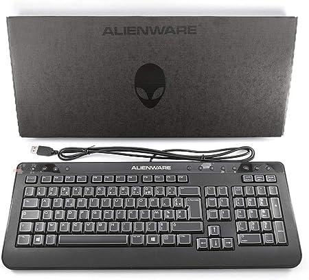 Genuino original DELL Alienware USB Teclado Teclado AZERTY ...
