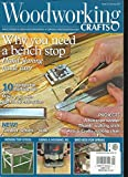 WOOD WORKING CRAFTS MAGAZINE, HAND POWER & GREEN WOODWORKING JANUARY, 2017