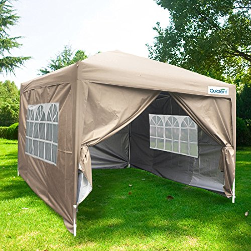 Quictent Waterproof 10x10 Ez Pop Up Canopy Gazebo Party