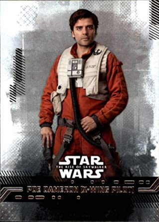2019 Topps Star Wars The Rise Of Skywalker Series One 16 Poe Dameron X Wing Pilot Trading Card At Amazon S Entertainment Collectibles Store