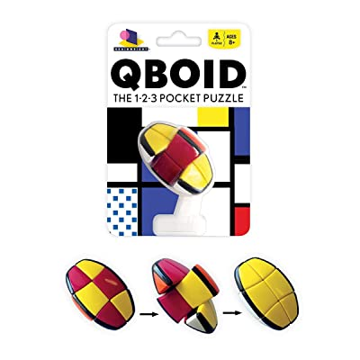 QBoid The 1-2-3 Pocket Brain Teaser Puzzle: Toys & Games [5Bkhe0305744]