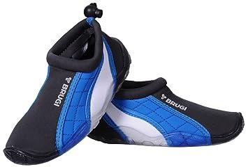 Zapatillas para niños Brugi, 1SA7 naviblau-grau-weiß Talla:29