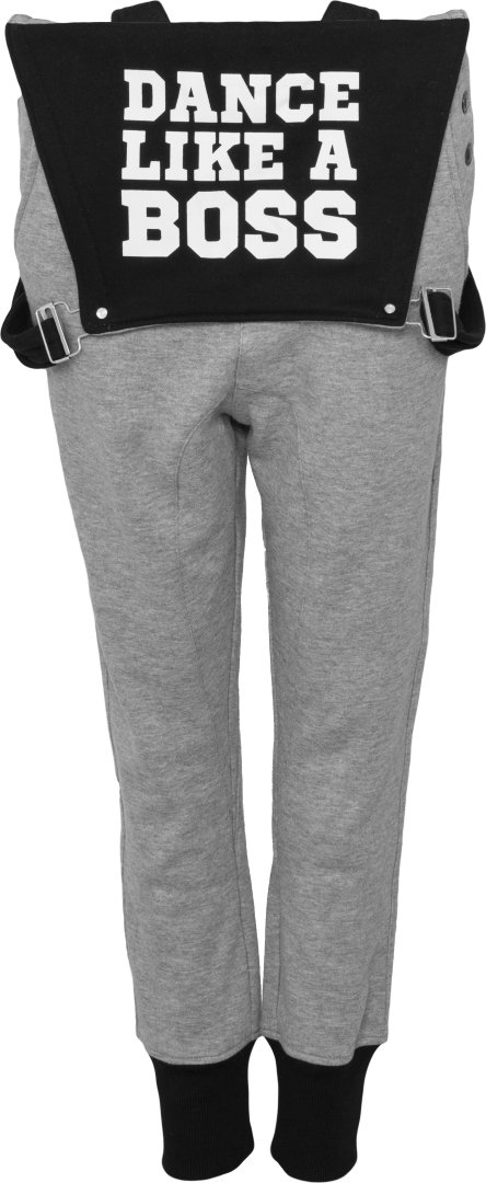 Urban Dance Ladies - Dungarees Overall Jumpsuit grey by Urban Dance