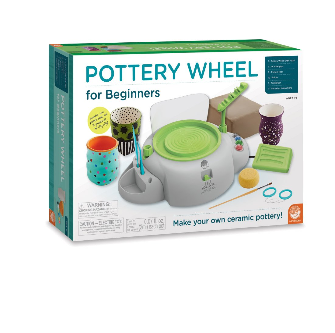 Top 7 Best Pottery Wheels for Kids Reviews in 2020 3