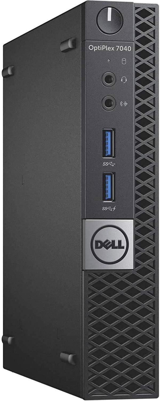 DELL OPTIPLEX 7040 6th Gen Micro Business Desktop Computer, Intel Quad Core i5 6500T up to 3.1GHz, 8G DDR4, 512G SSD, WiFi, BT 4.0, USB 3.0, HDMI, DP, Win 10 64-Bit Supports EN/ES/FR(CI5)(Renewed)