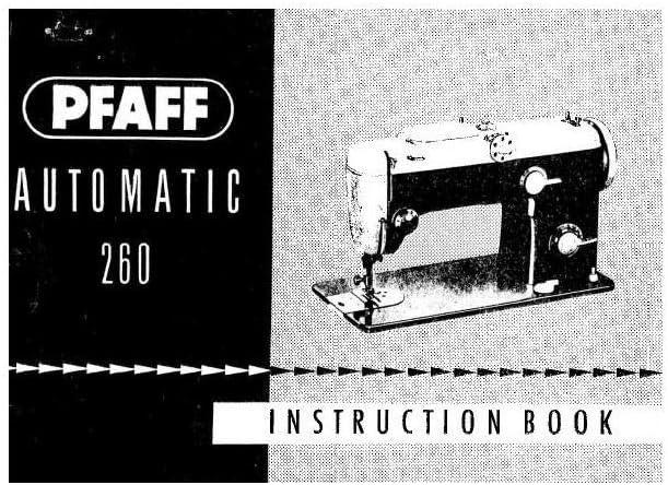 Descargar Pdf-File Pfaff 260 máquina de coser: Amazon.es: Hogar