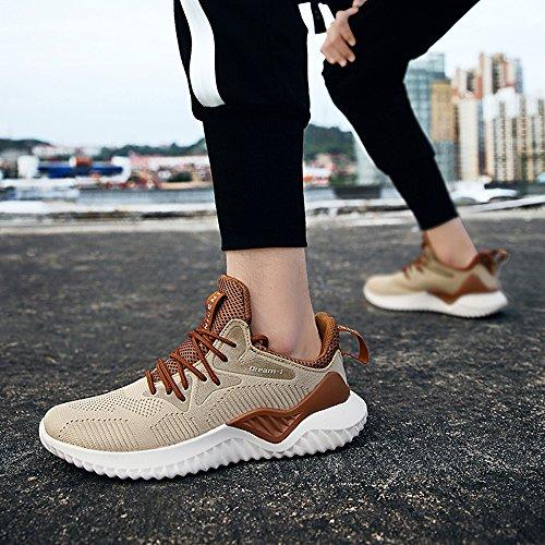 Trekking Ginnastica Uomo Running Casual Basse Fitness Da Marrone Muou Scarpe Sneaker qaPWwRcRzX