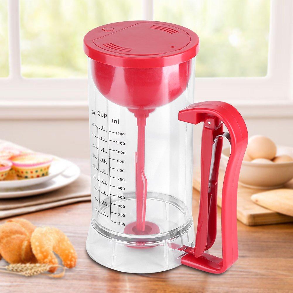 Cake Batter Dispenser Electric Stirring Batter Dispenser Cordless ...