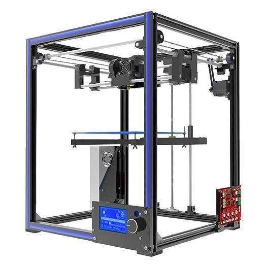 DM-DYJ Impresora 3D X5, Grado Industrial Alta Precisión Escritorio ...