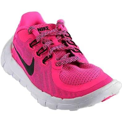 Amazoncom Girls Nike Free 50 Pre School Running Shoe Running