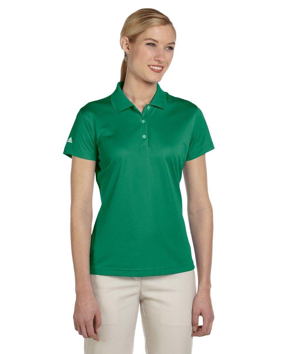 Adidas Golf A131 Ladies' Climalite® Basic Short-Sleeve Polo - Amazon - L
