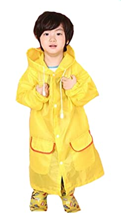 famous designer brand special discount of discount shop Amazon.com: Qingsun Kids Cute Animal Rain Cape Yellow Duck ...