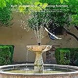 Solar Fountain,Solar Powered Fountain,Suitable for
