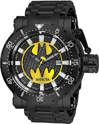 Limited Edition Invicta DC Comics Model 26819 Batman Black Mens Automatic Watch