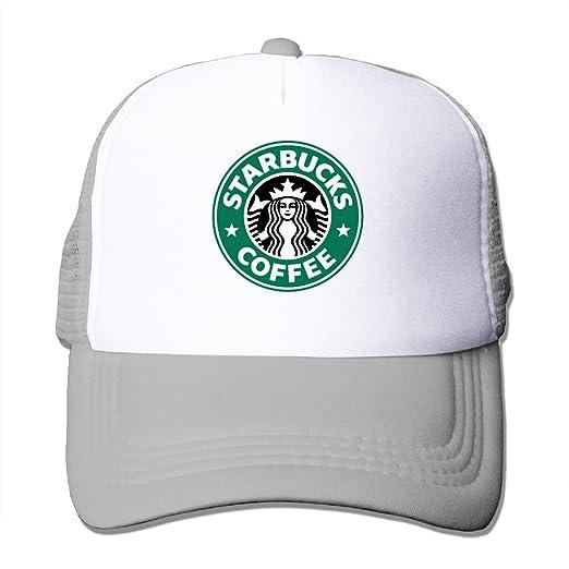 Amazon.com  Black Starbucks Coffee Adjustable Trucker Hats Unisex ... e30efe6c0c70