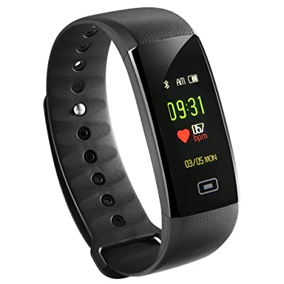 Fitness Tracker HR, Siroflo Fitness Watch Color...