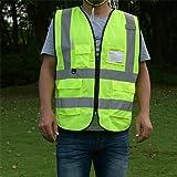 ZOJO High Visibility Safety Vests,Lightweight