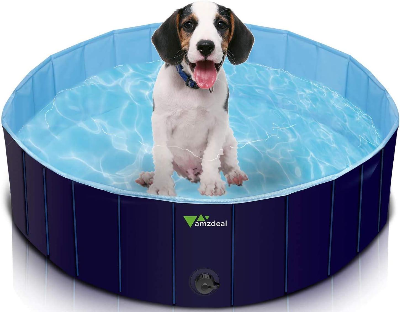 piscina para perros plegable