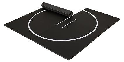 Amazoncom Ez Flex 10 X 10 Home Wrestling Mat Black Sports