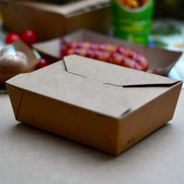 Pack/&Cup Essensschachtel CRAFTBOX 1000 ml 50 St/ück