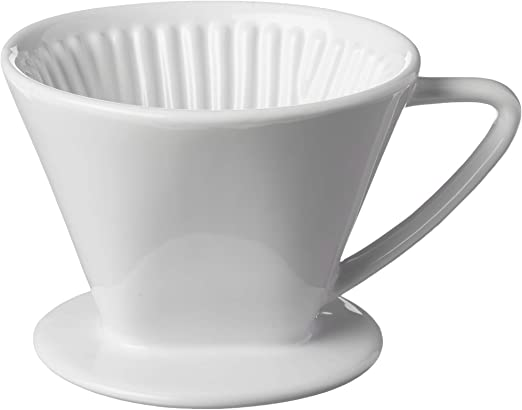 Frieling USA 105162 - Cafetera italiana de porcelana, color azul ...