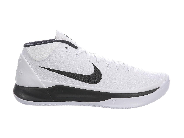 on sale 15be6 22558 Nike Mens Kobe AD White/Black Nylon Basketball Shoes 12.5 D(M) US