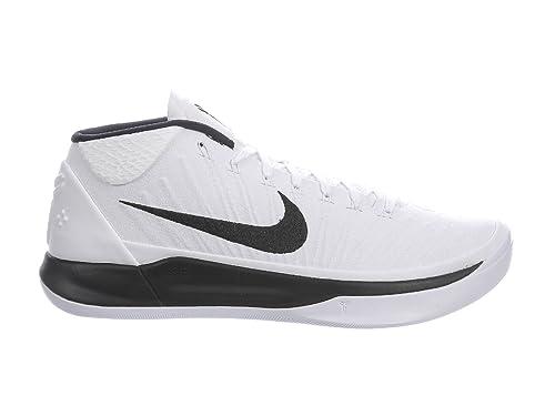 Buy Nike Mens Kobe A D White Black Nylon Basketball Shoes 12 5 D M Us At Amazon In