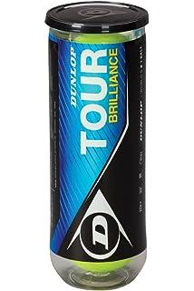 DUNLOP Pelotas Tenis Tour Brilliance 3 Bolas
