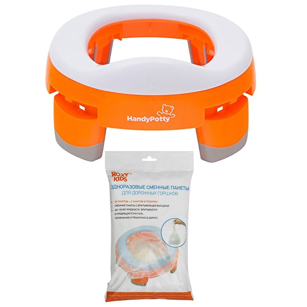 Pack HandyPotty: Orinal y Recambios Handy Potty. Nikidom