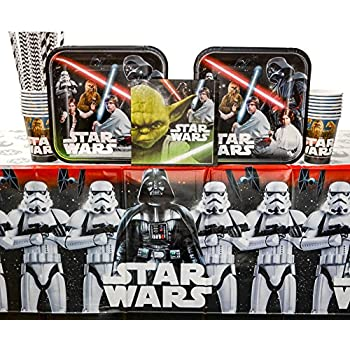 Amazon.com: Star Wars The Last Jedi Episode 8 Party Pack for ...