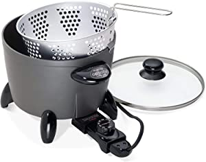 National Presto Ind 06003 Options Multi Cooker/Steamer - Heavy Cast Aluminum - Quantity 1