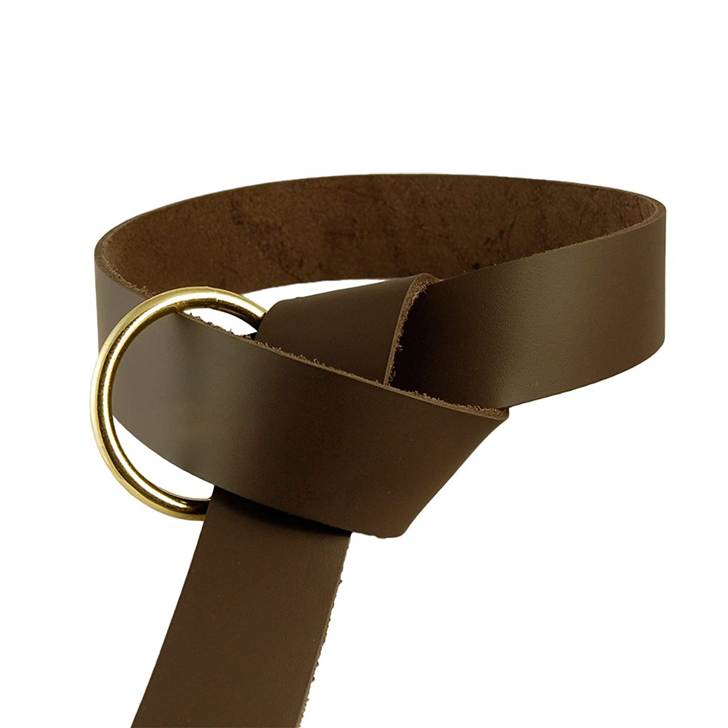 Brown Medieval Ring Belt