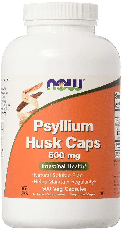 Now Psyllium Husk Caps