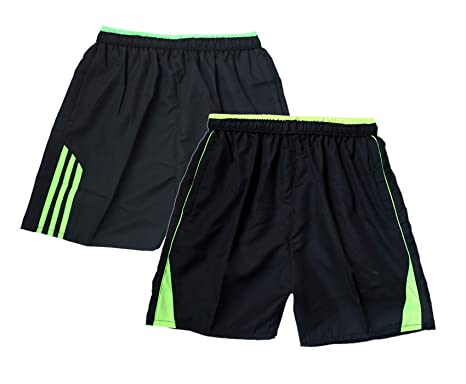013cc6a58ab Buy Indistar Mens Polyester Fitness Gym Shorts Sports Shorts Bermuda(Pack  of 2 Sports Shorts Bermuda) Online at Low Prices in India - Amazon.in
