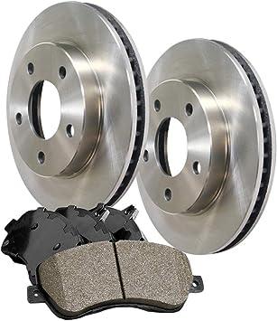 Front 296 mm Quality OE Brake Rotors Set For 2011 2012 2013 NISSAN JUKE S SL SV