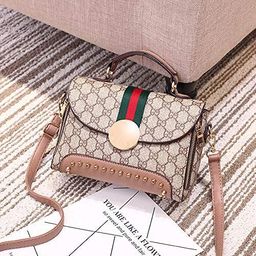 Retro Messenger Fashion B Package Single Bag Shoulder Hongge Lady Small PU Bag Ladies Bag 10nwFO