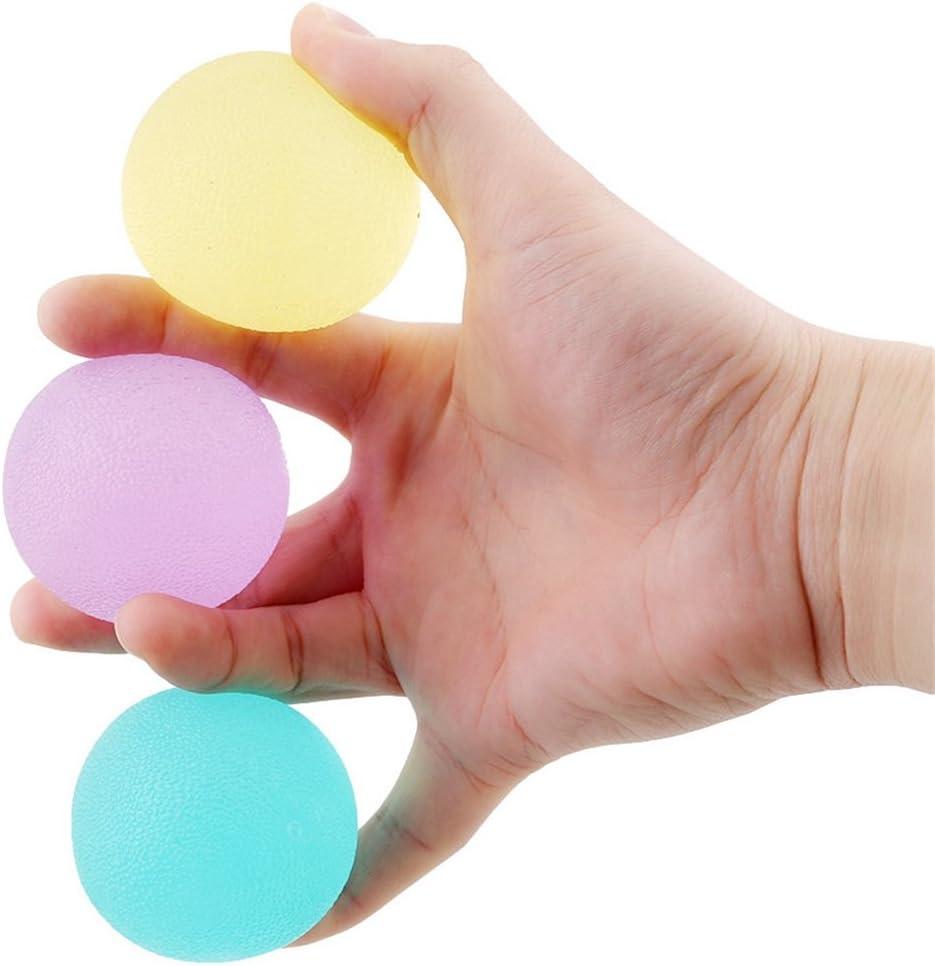rurah mano terapia ejercicio Gel bolas antiestrés bolas de embalaje de 3: Amazon.es: Juguetes y juegos