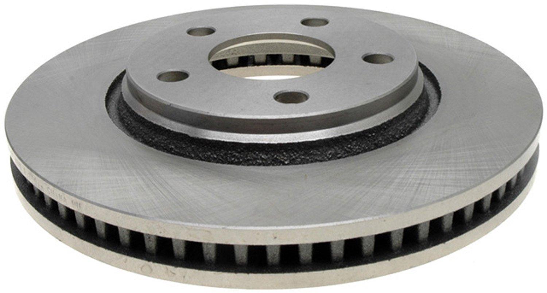 ACDelco 18A1621A Advantage Non-Coated Front Disc Brake Rotor