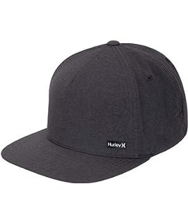 cd9989a2690a Hurley M League Hat Gorras, Hombre, White Black, Talla Única: Amazon ...