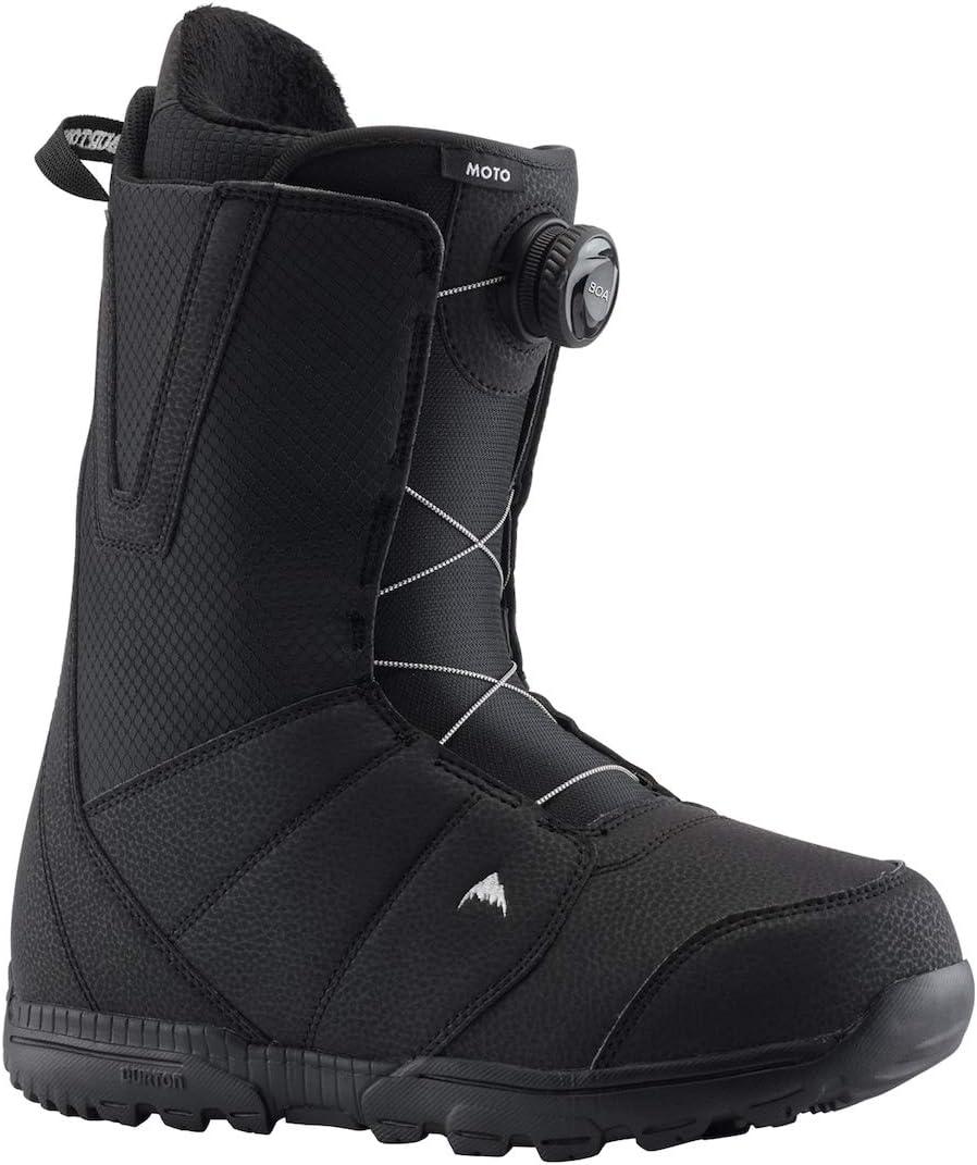 Burton Mens Moto Boa Snowboard Boots Black 13