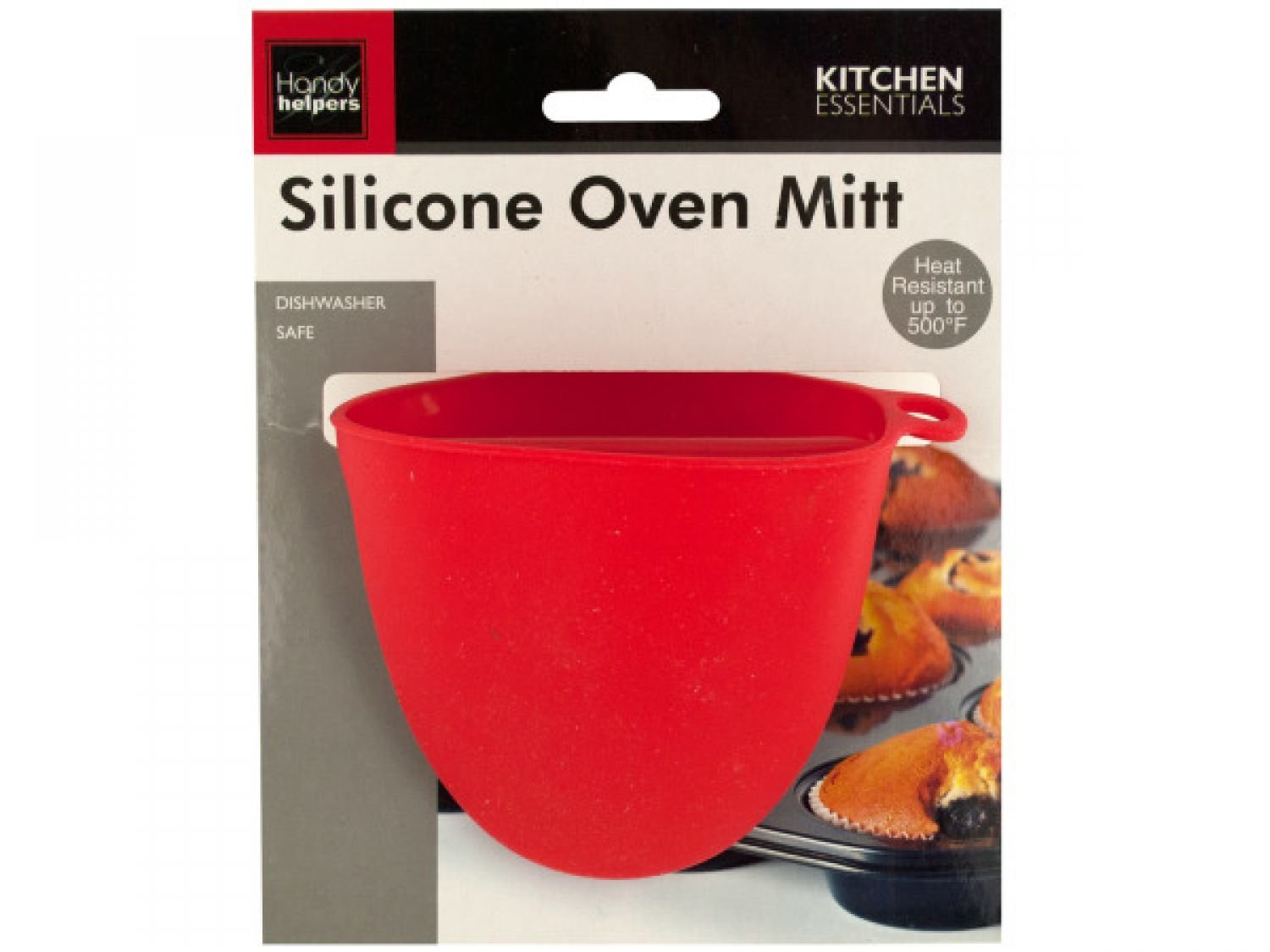 Silicone Oven Mitt - 72 Pack